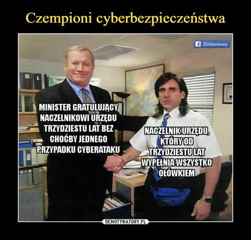 Czempioni cyberbezpieczeństwa