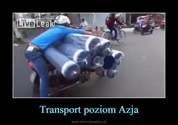 Transport poziom Azja –