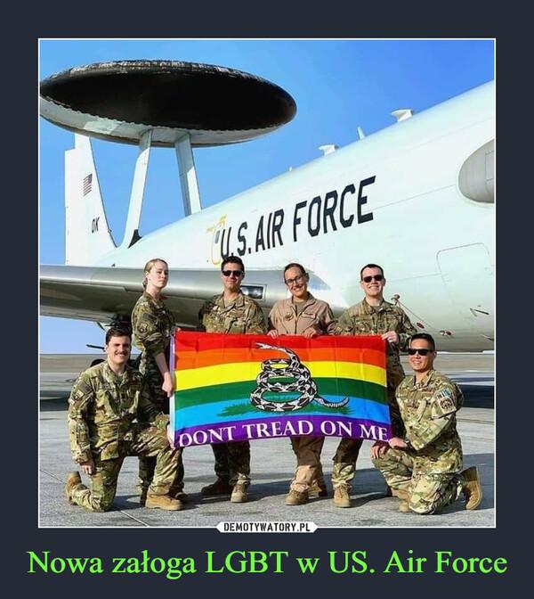 Nowa załoga LGBT w US. Air Force –