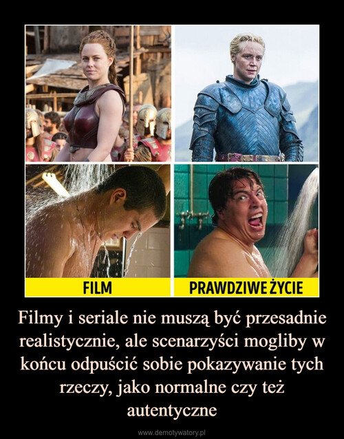 Filmy i seriale nie muszą być przesadnie realistycznie, ale scenarzyści mogliby w końcu odpuścić sobie pokazywanie tych rzeczy, jako normalne czy też autentyczne