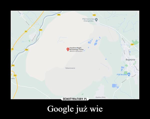 Google już wie –