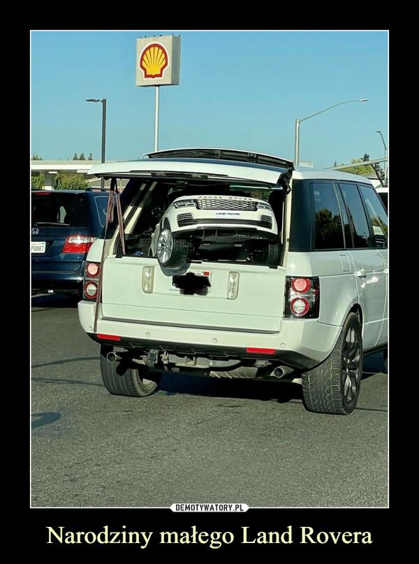 Narodziny małego Land Rovera –